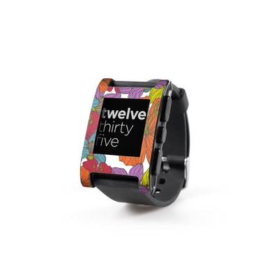 Pebble Watch Skin - Cayenas