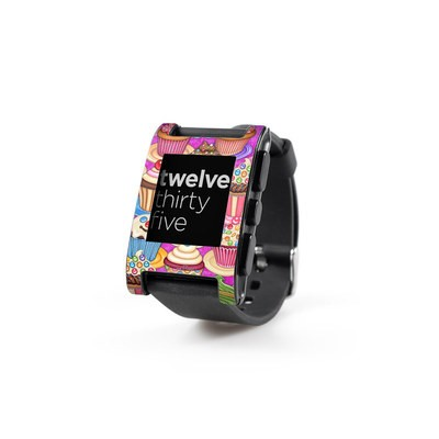 Pebble Watch Skin - Cupcake