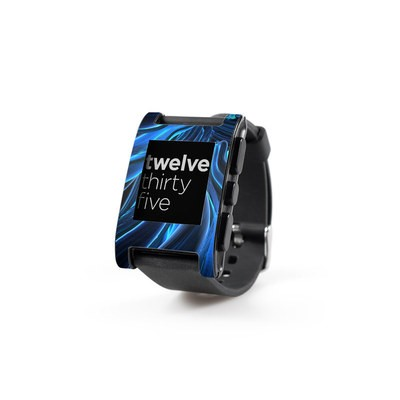 Pebble Watch Skin - Cerulean