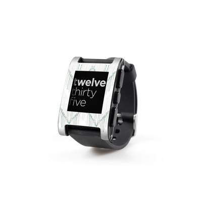 Pebble Watch Skin - Chic Chevron