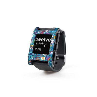 Pebble Watch Skin - Cosmic Ray