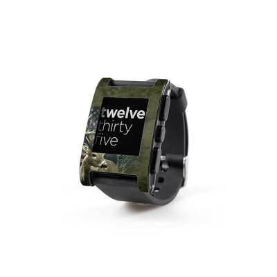 Pebble Watch Skin - Deer Flag
