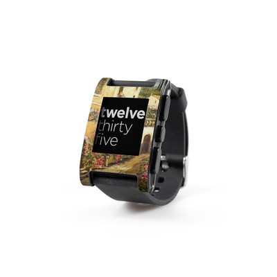 Pebble Watch Skin - Via Del Fiori