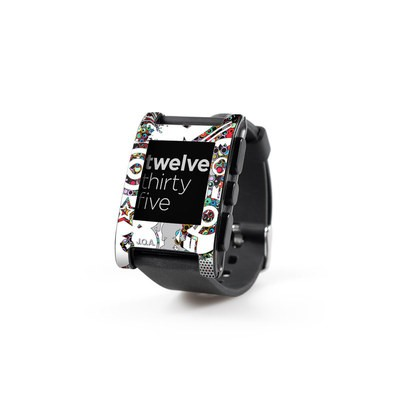Pebble Watch Skin - Dots