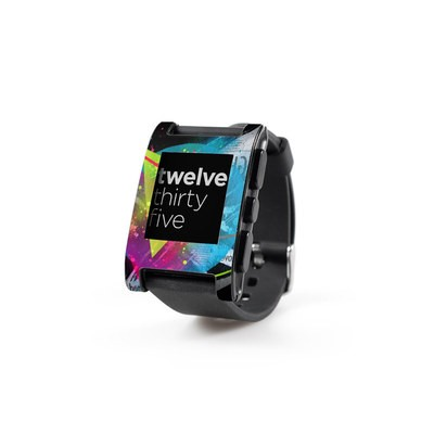 Pebble Watch Skin - Element-City