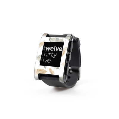 Pebble Watch Skin - Feathers