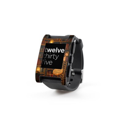 Pebble Watch Skin - Google Data Center