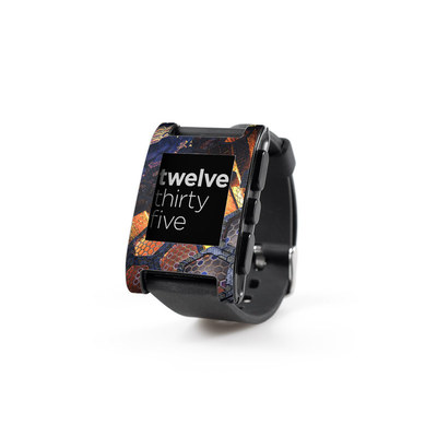 Pebble Watch Skin - Hivemind