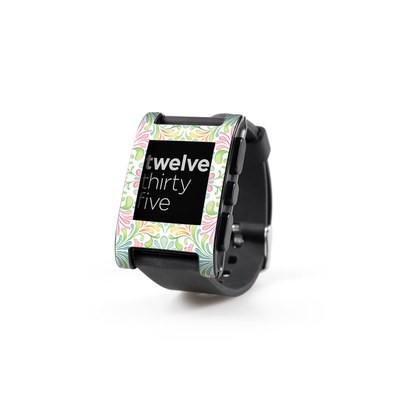 Pebble Watch Skin - Honeysuckle