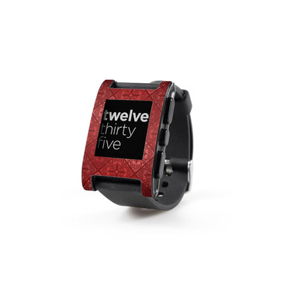 Pebble Watch Skin - Humidor