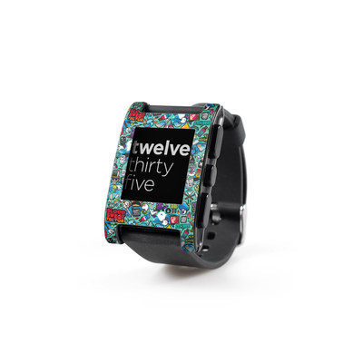 Pebble Watch Skin - Jewel Thief