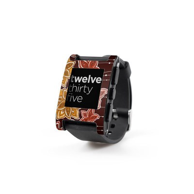 Pebble Watch Skin - Lila