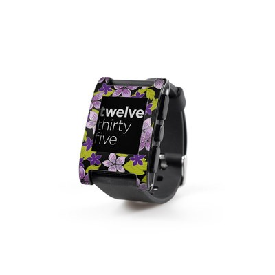 Pebble Watch Skin - Lilac