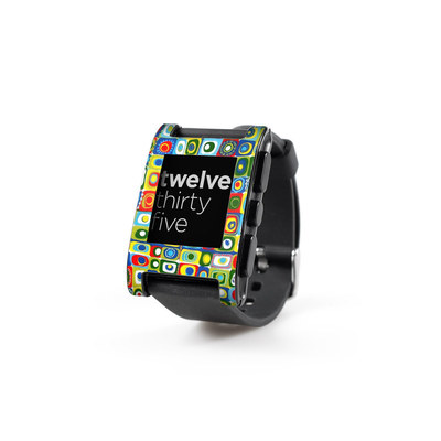 Pebble Watch Skin - Line Dancing