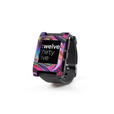 Pebble Watch Skin - Marbles
