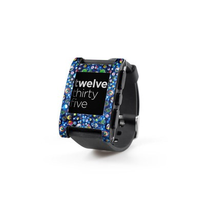 Pebble Watch Skin - My Blue Heaven