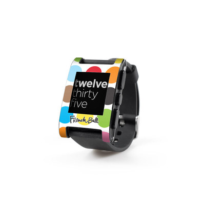 Pebble Watch Skin - Multidot