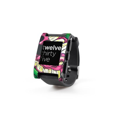 Pebble Watch Skin - Mean Green