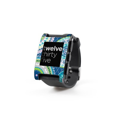 Pebble Watch Skin - Medallions