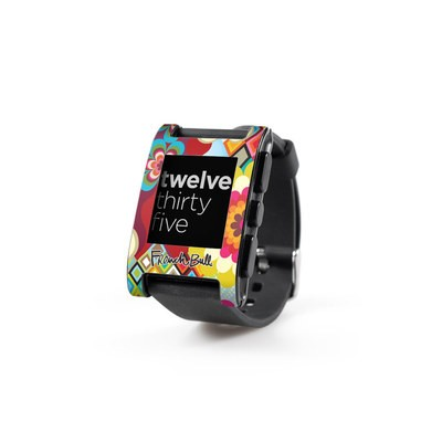 Pebble Watch Skin - Mosaic