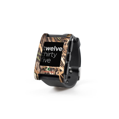 Pebble Watch Skin - Shadow Grass