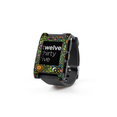 Pebble Watch Skin - Nature Ditzy