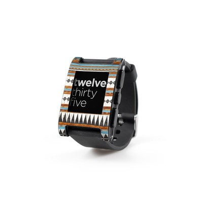 Pebble Watch Skin - Navajo