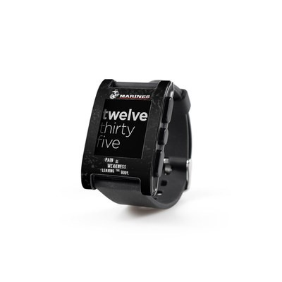 Pebble Watch Skin - Pain