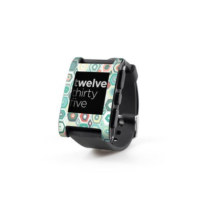 Pebble Watch Skin - Pastel Diamond