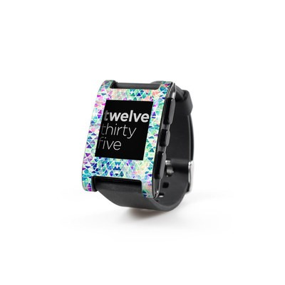 Pebble Watch Skin - Pastel Triangle