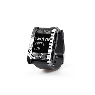 Pebble Watch Skin - Piano Pizazz