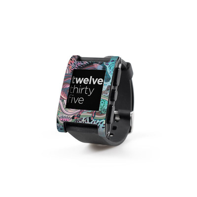 Pebble Watch Skin - Poetry in Motion