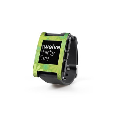 Pebble Watch Skin - Lime Punch