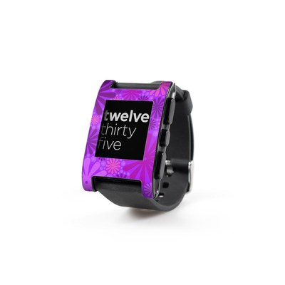 Pebble Watch Skin - Purple Punch