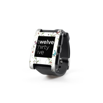 Pebble Watch Skin - Royal Birds