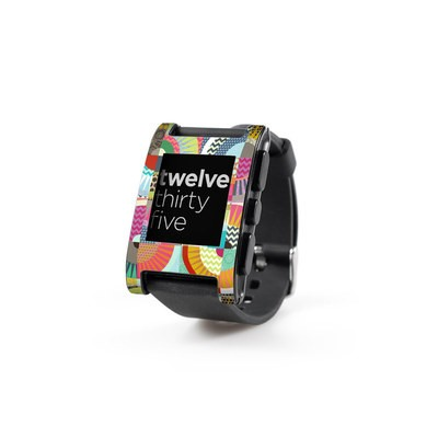 Pebble Watch Skin - Seaview Beauty