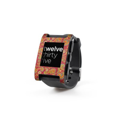 Pebble Watch Skin - Shades of Fall
