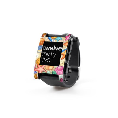 Pebble Watch Skin - Shells