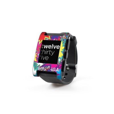 Pebble Watch Skin - Starzz