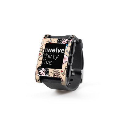 Pebble Watch Skin - Suzy Sailor