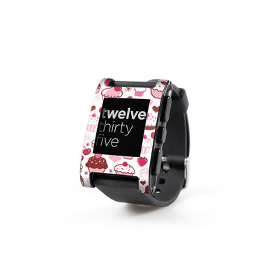 Pebble Watch Skin - Sweet Shoppe