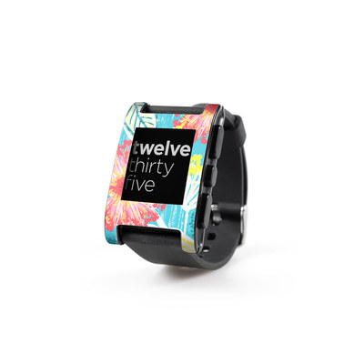 Pebble Watch Skin - Tickled Peach