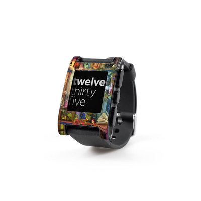 Pebble Watch Skin - Treasure Hunt