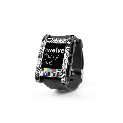 Pebble Watch Skin - TV Kills Everything