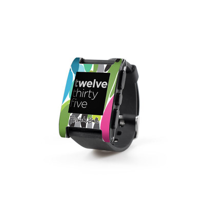 Pebble Watch Skin - Twist