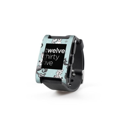 Pebble Watch Skin - Vintage Mermaid