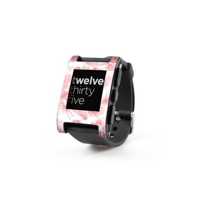 Pebble Watch Skin - Washed Out Rose