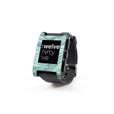 Pebble Watch Skin - Waves