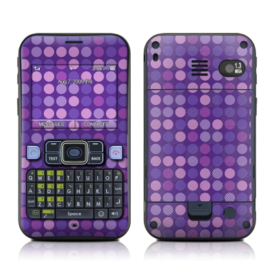 Sanyo SCP-2700 Skin - Dots Purple