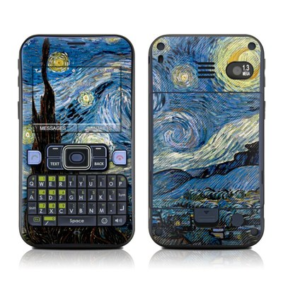Sanyo SCP-2700 Skin - Starry Night